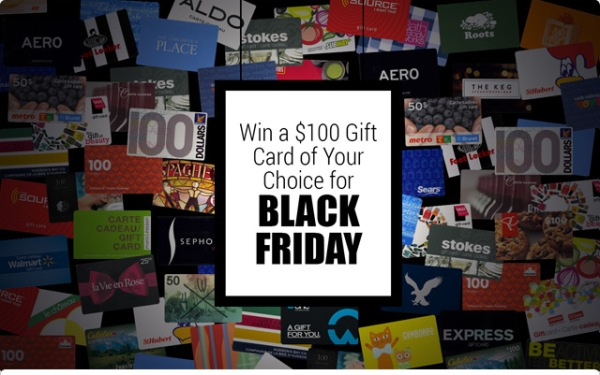 FundScrip Black Friday Contest