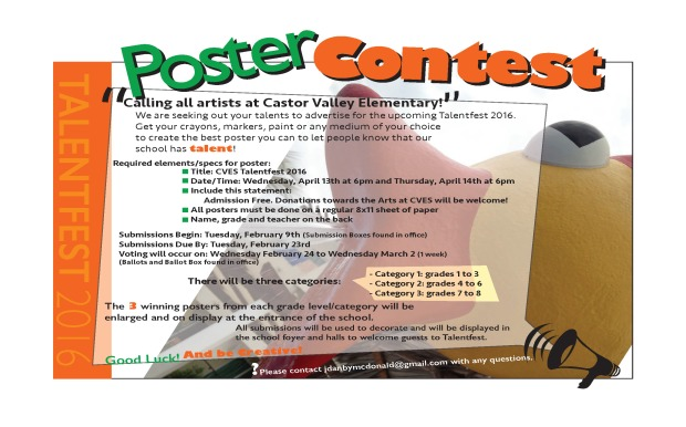 Talentfest Poster Contest