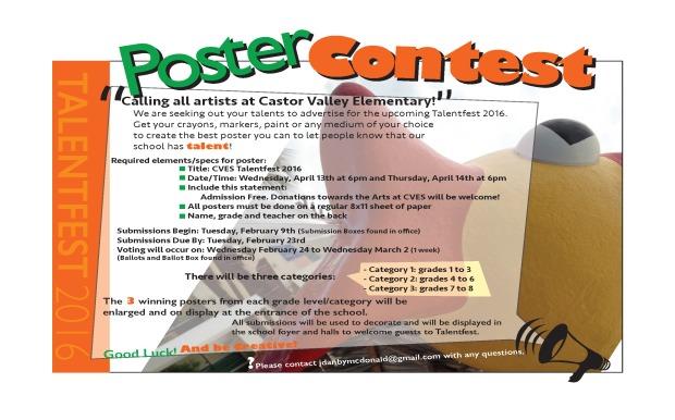 Talentfest Poster Contest