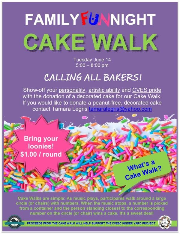 Cake Walk 2016